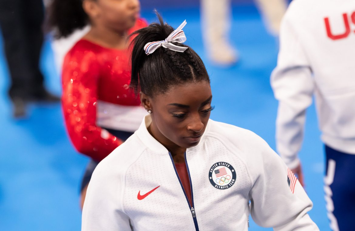 Tokyo 2020. Simone Biles has withdrawn from the Olympics.  Substitute players