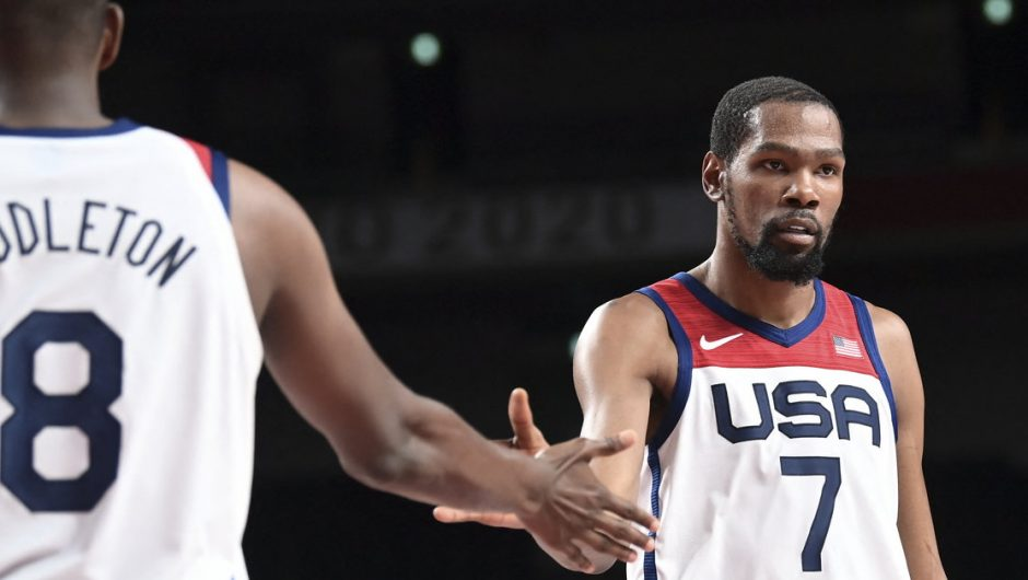 Tokyo 2020. USA is better than Spain.  Rubio and Durant show