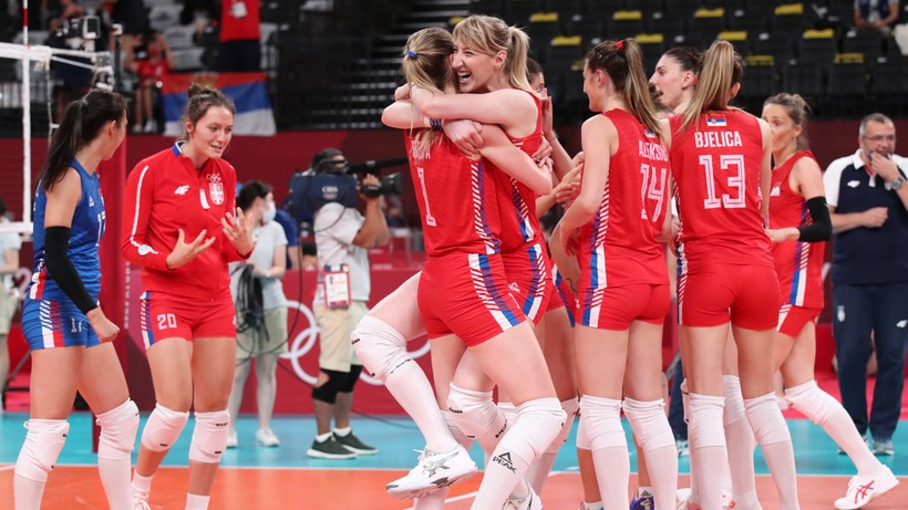 Tokyo 2020. Volleyball: Serbia - USA.  Live coverage and score