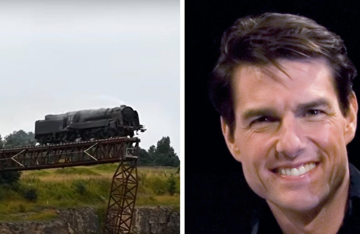 Tom Cruise finally blew the bridge to the new Mission: Impossible 7. See where the train landed [FILM]