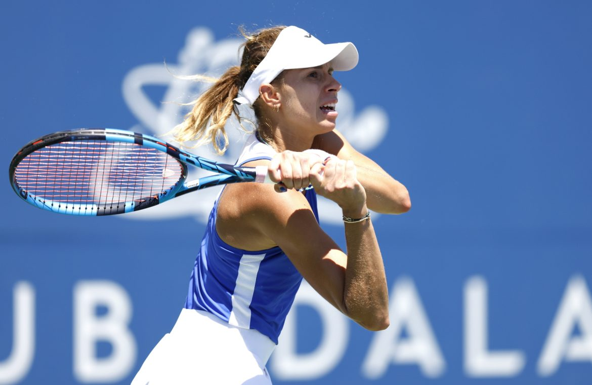 WTA Montreal: Magda Lynette on the main ladder.  The Polish woman met her first competitor