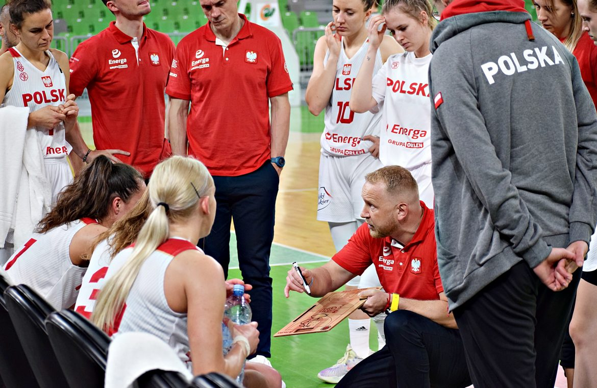 Will the Polish women return to the EuroBasket?  On Friday, they met their rivals in the qualifying rounds
