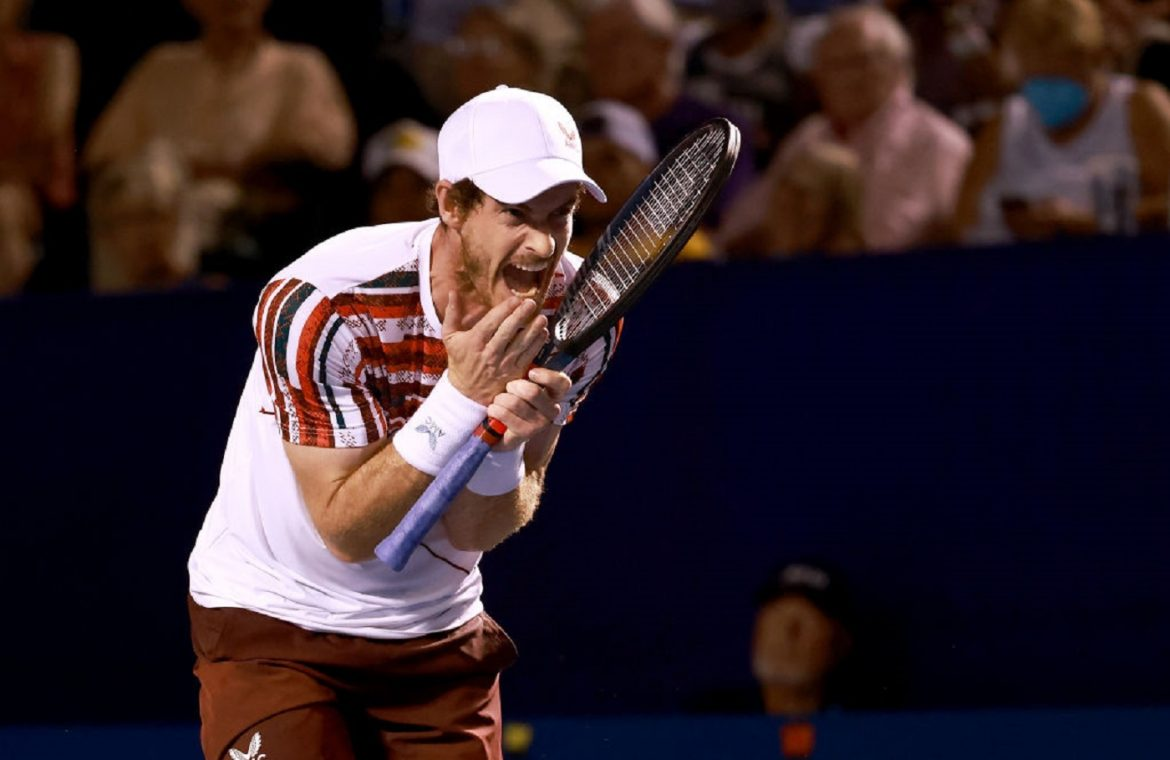 """Winston Salem: Andy Murray found a killer.  Tournament """"one"""" with problems"""