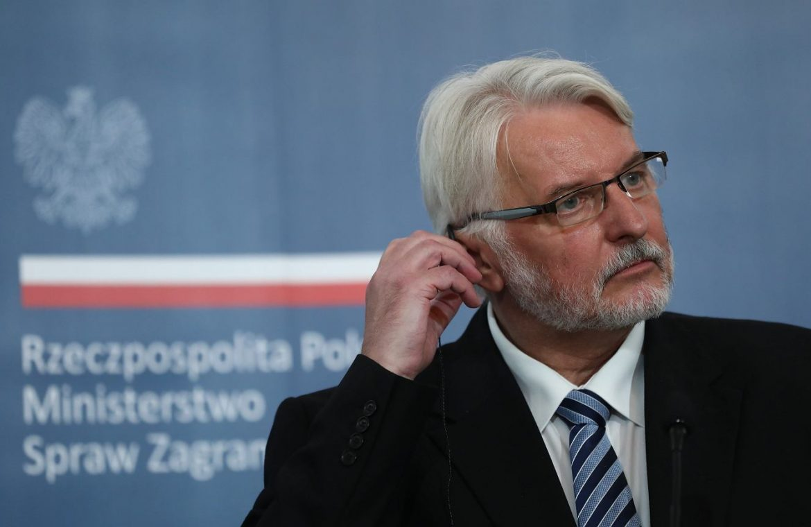 Witold Waszczykowski on the US reaction to 'lex TVN': Many US politicians are deceived    Policy