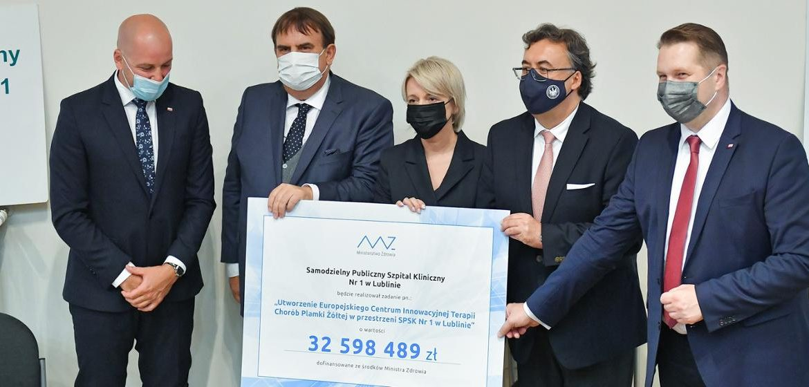 Creation of the European Center for the Innovative Treatment of Macular Diseases - an event with the participation of Minister Przemyslav Czarnik - Ministry of Education and Science