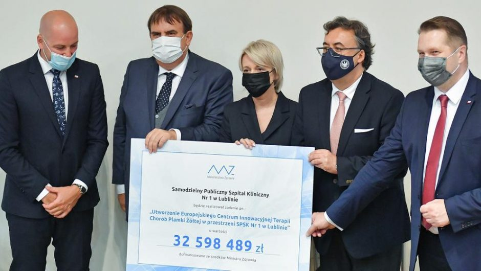 Creation of the European Center for the Innovative Treatment of Macular Diseases – an event with the participation of Minister Przemyslav Czarnik – Ministry of Education and Science