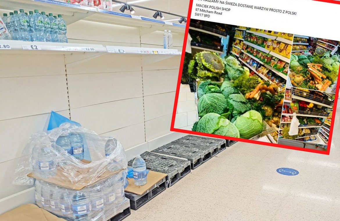 Britain's exit from the European Union and its surprising impact.  Empty shelves in supermarkets, so the British go to Polish stores