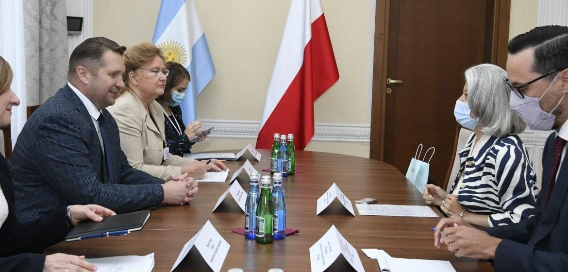 Meeting of the Minister of Education and Science with the Argentine Ambassador to Poland - Ministry of Education and Science