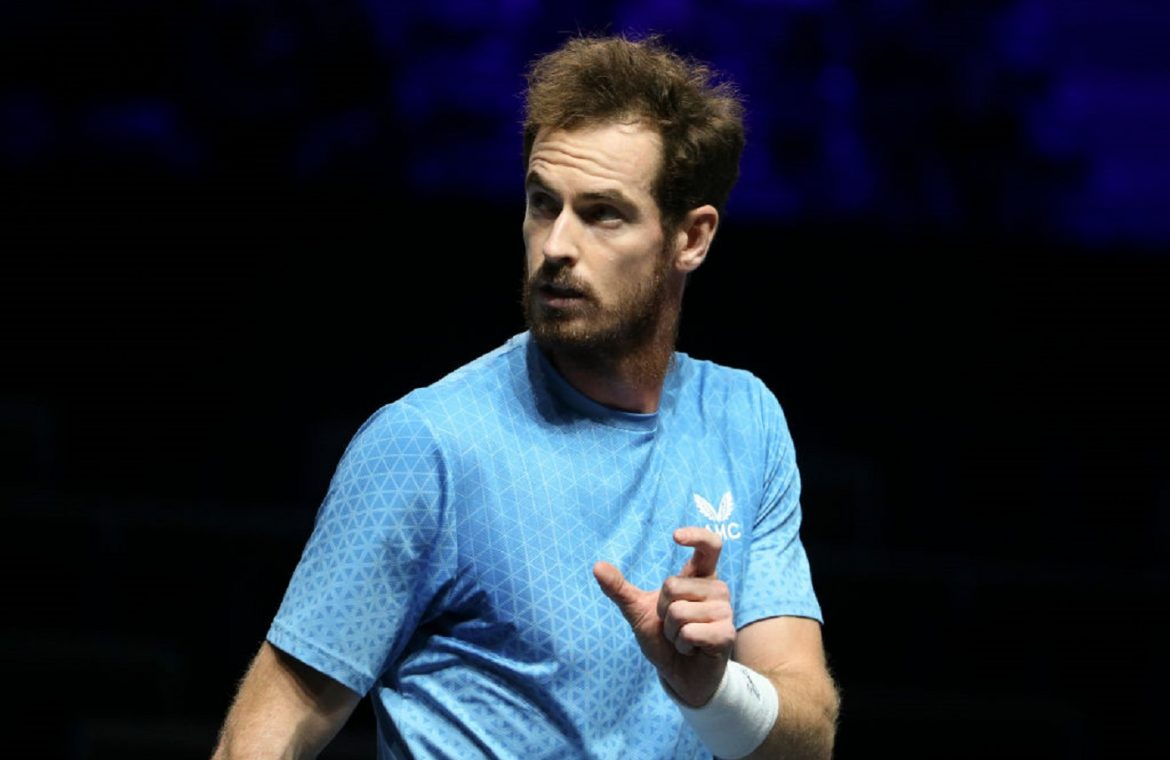 """There was no injury.  Andy Murray, Championship Contender, """"Two"""""""