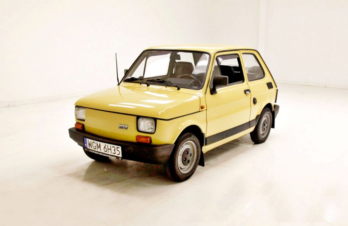 Polish Fiat 126p is available for purchase in the US!  with you?