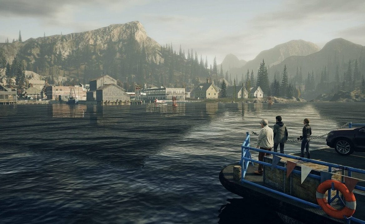 Alan Wake Remastered - Compare the original graphics with the new trailer