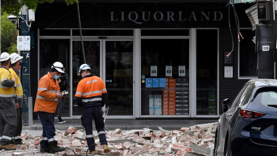 Australia: Strong earthquake off the east coast