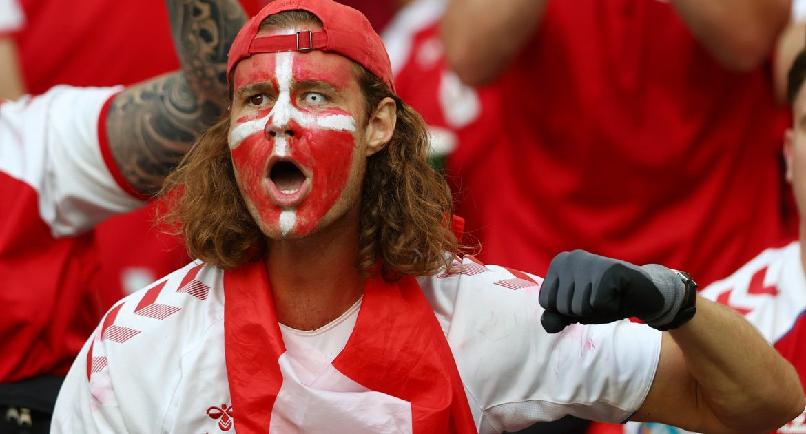 England-Denmark: The Danish Football Association takes the fans to Wembley.  Euro 2020