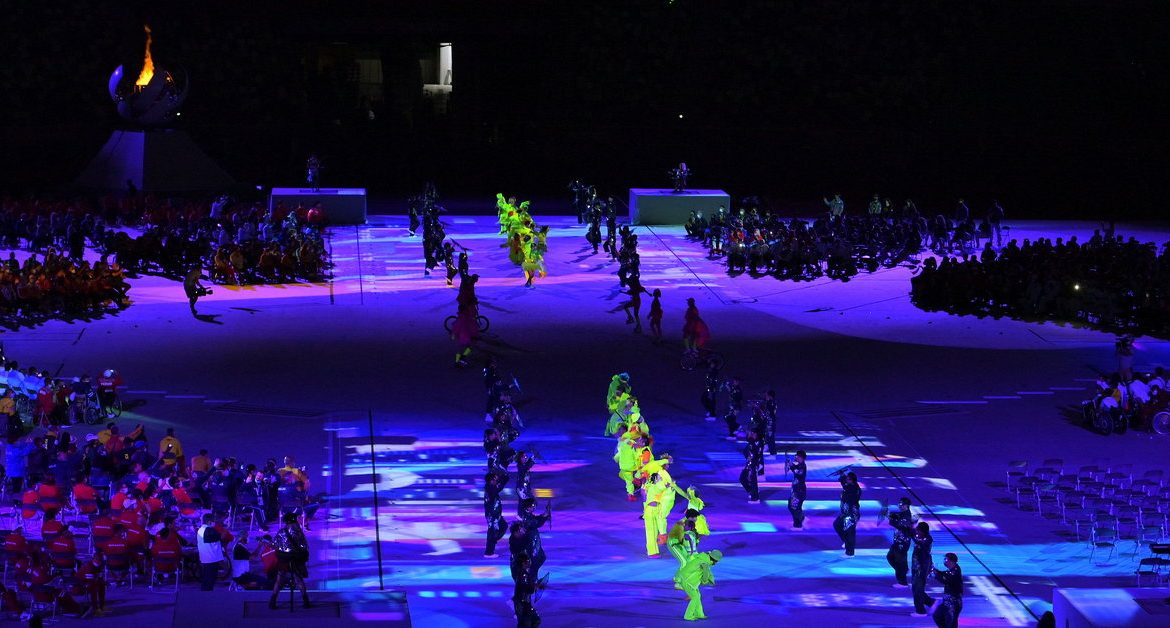 Games for people with special needs.  The closing ceremony is behind us.  Tokyo 2020