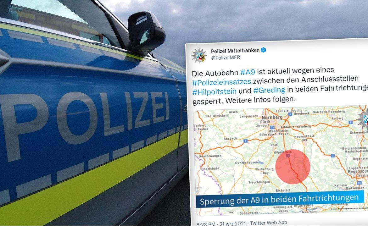 Germany.  The man was taken hostage in the bus and arrested