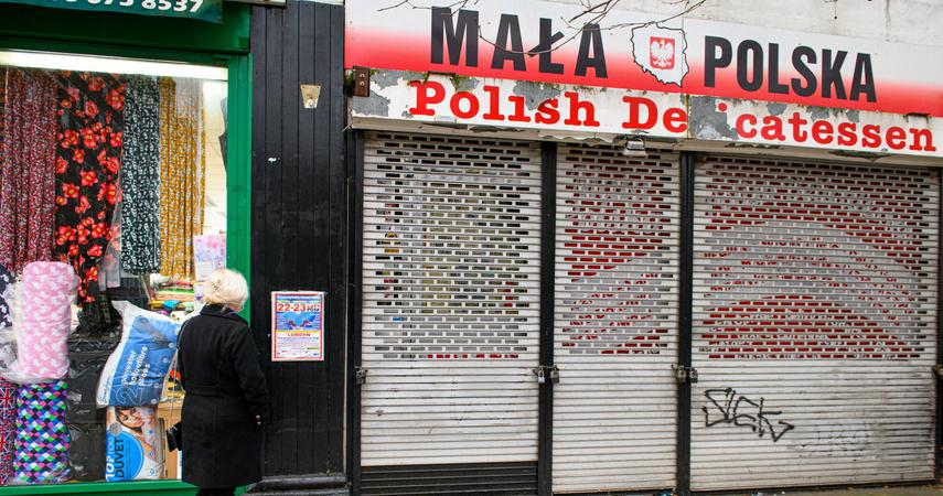 Immigration from Poland is decreasing.  How many immigrants are there?