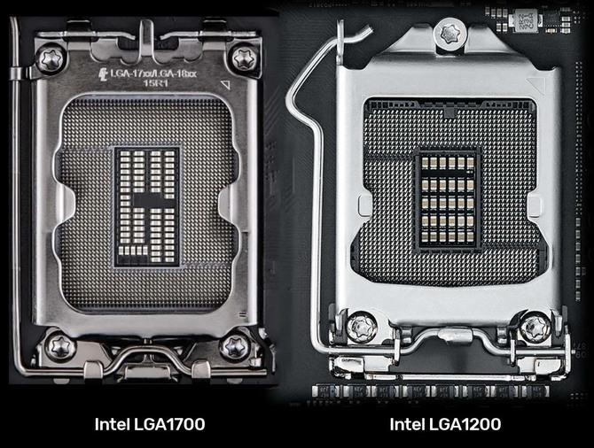 Intel LGA1700 - New socket image leaked for Intel Alder Lake and Meteor Lake processors [1]