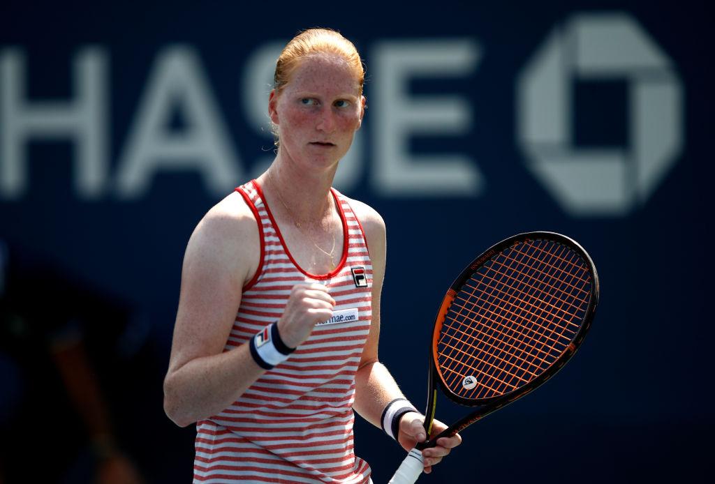 It wasn't a Belgian girl's career.  Kristina Pliskova without promotion