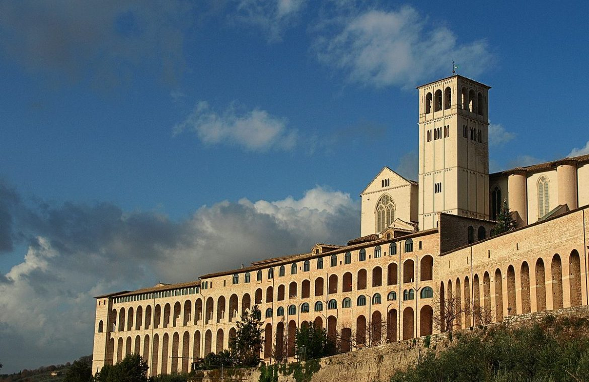 """Italy.  A """"vaccine cache"""" in the monastery.  The doctor informed the parish of his sister"""