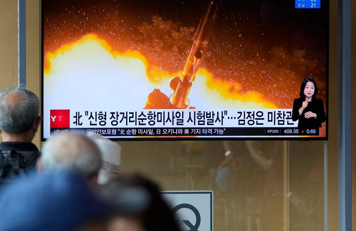 North Korea reveals: We are conducting tests with hypersonic missiles |  News from the world