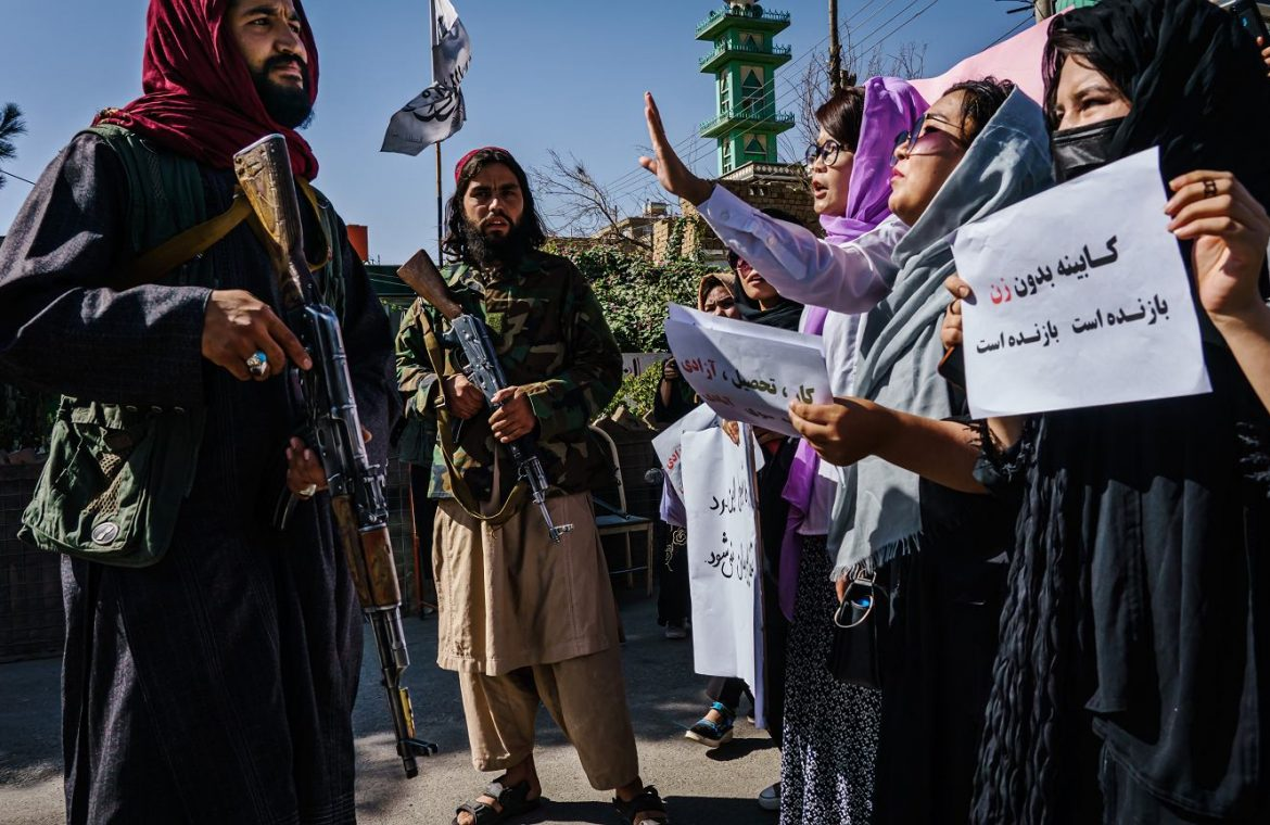 Protests in Afghanistan's second largest city.  Hundreds of ex-soldiers on the streets    News from the world