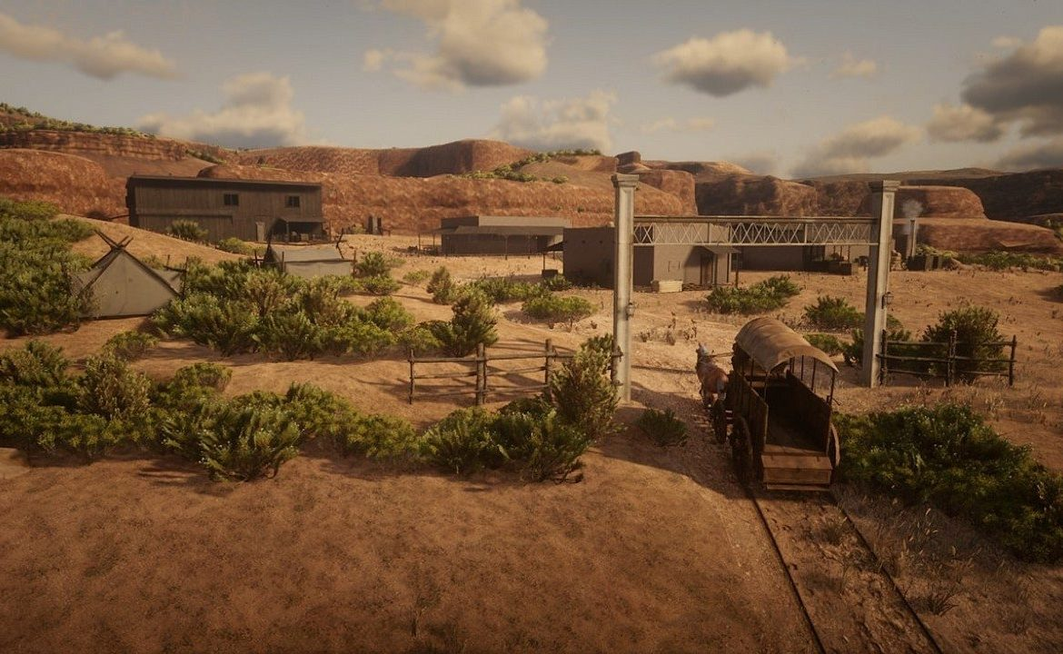 Red Dead Redemption 2 - A mod pack that complements the map of Mexico