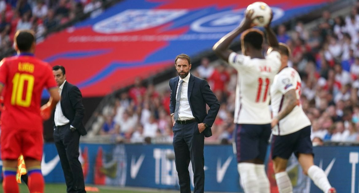 The Liverpool defender found it 'difficult' in Southgate's 'experience' in England