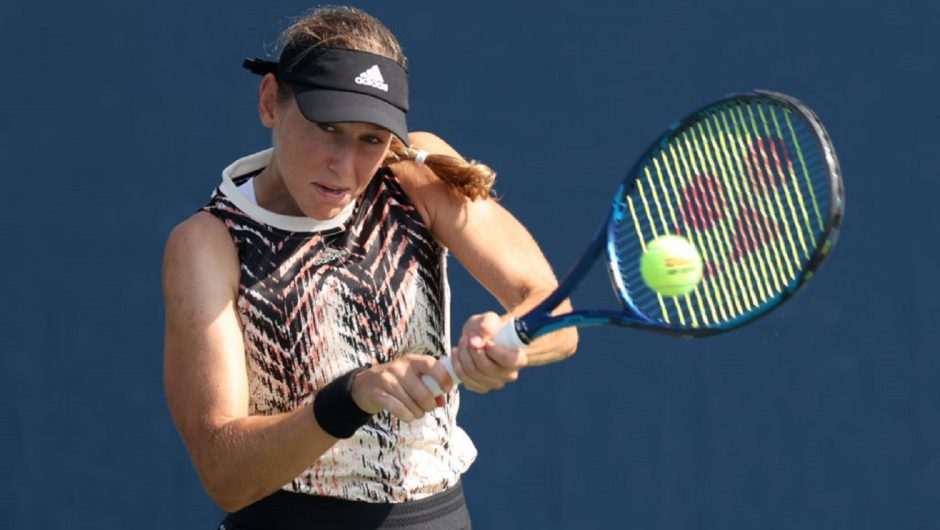 The Slovenian kicked out the top-ranked Croatian woman.  Julia Putintseva promotion