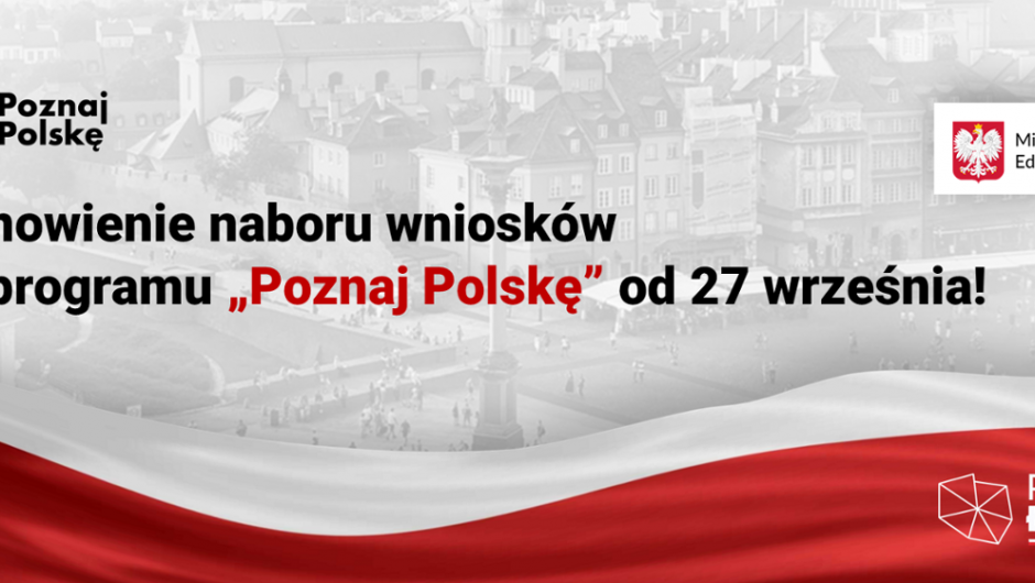 """The call for applications for the """"Meet Poland"""" program will resume from September 27!  - Ministry of Education and Science"""