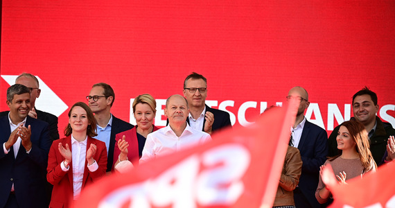 The latest poll in Germany: the SPD is ahead, and a disastrous result for Angela Merkel's party