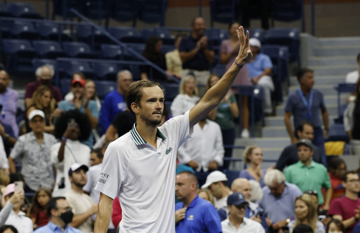 US Open: Daniil Medvedev's routine win.  The exciting competitor of the Russian in the quarter-finals