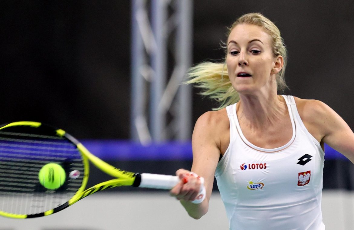 Urszula Radwańska competed in a Slovenian resort.  You haven't finished the first game