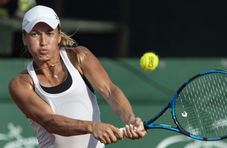 Yulia Putintseva is the biggest star of the new tournament.  Kristina Mladenovic will play
