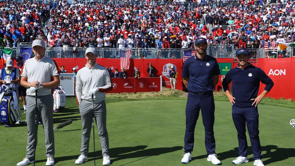 golf.  Ryder Cup.  Record result for the US national team