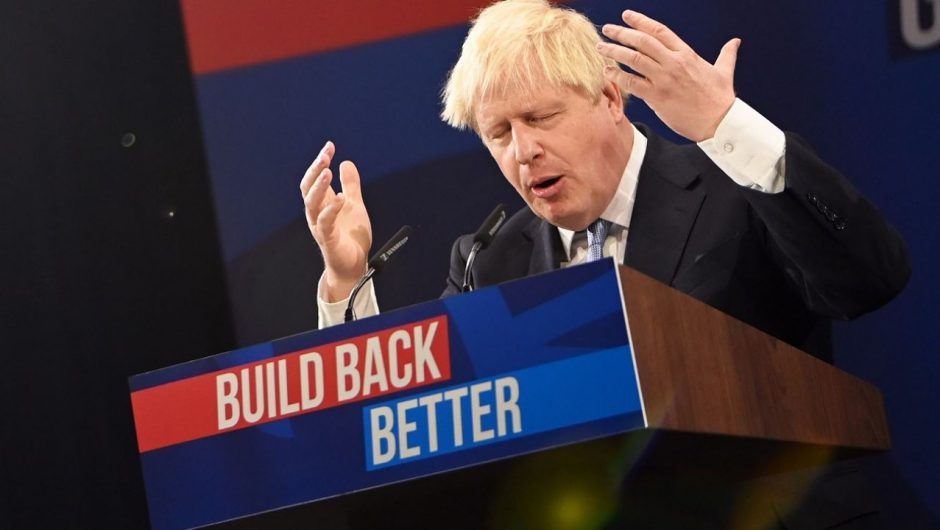 UK, Prime Minister Boris Johnson: Mass immigration and the supply crisis
