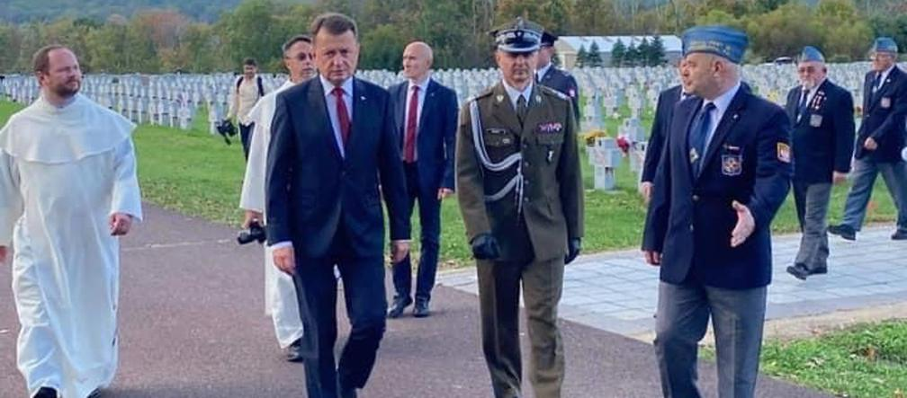 Mariusz Błaszczak visits the United States of America.  The Minister of National Defense visited the most important places - Super Express