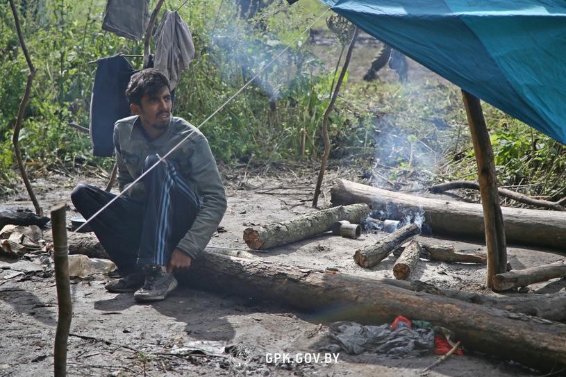 Migrant camp on the Polish-Belarus border / Laski Diffusion / East News