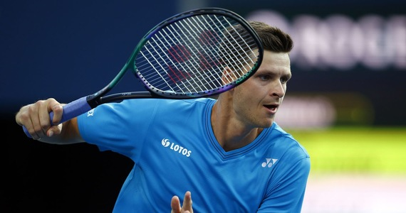 Tennis.  Hubert Hurkacz - Andy Murray plays with each other again