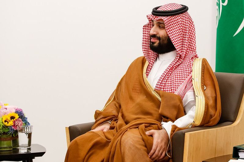 Saudi Arabia announced the goal of climate neutrality.  The date has been given