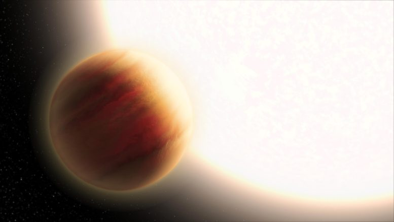 Scientists measure the atmosphere of a planet in another solar system, 340 light years away