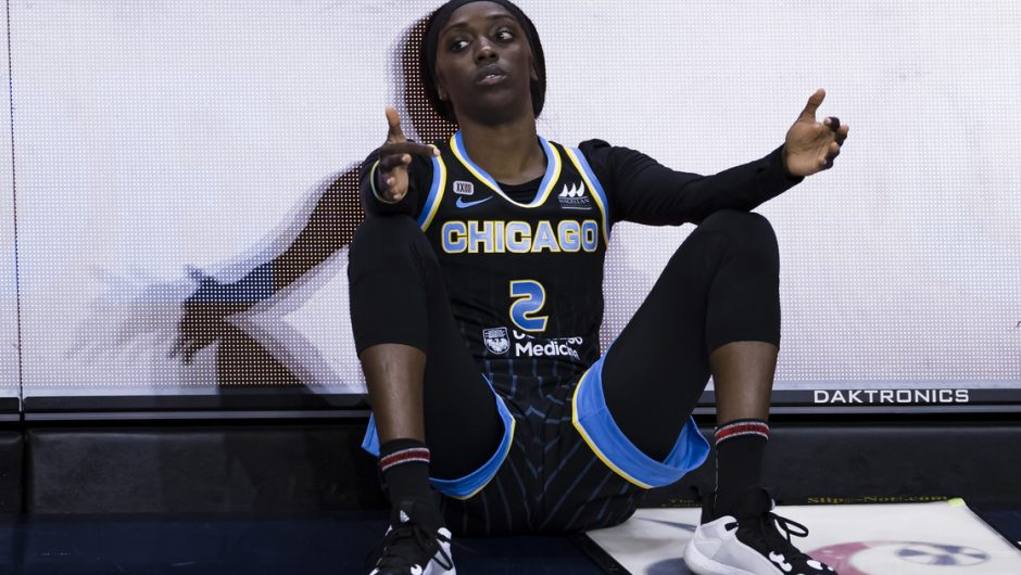 Basketball.  Kahleah Copper - in the USA with the MVP award, in Poland the victim of a stalker