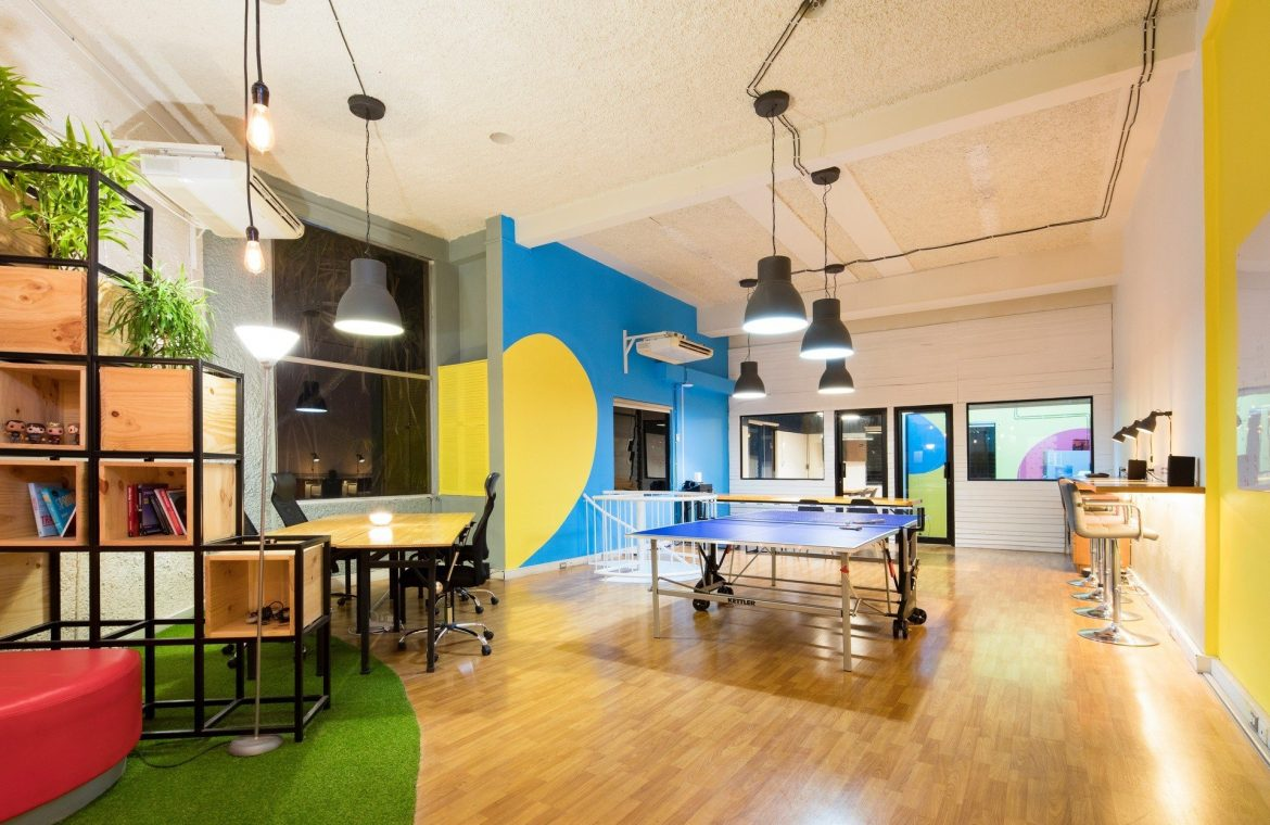 Companies are changing office space to encourage employees to come back