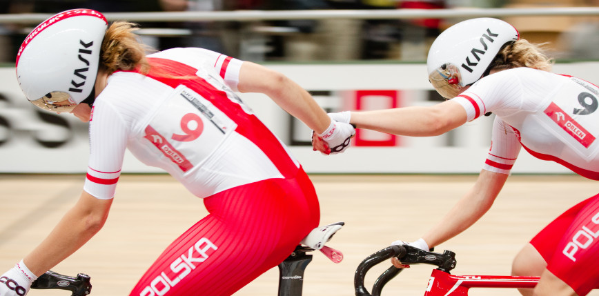 Cycling Track - World Cup: Saturday double the Poles