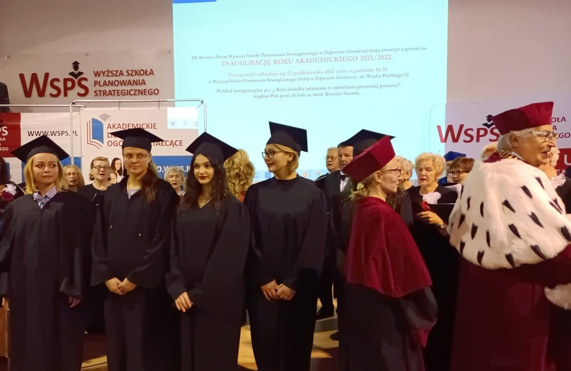 Dąbrowa Górnicza.  The opening of the academic year 2021/22 at the University of Strategic Planning.  Learning in universities will be difficult