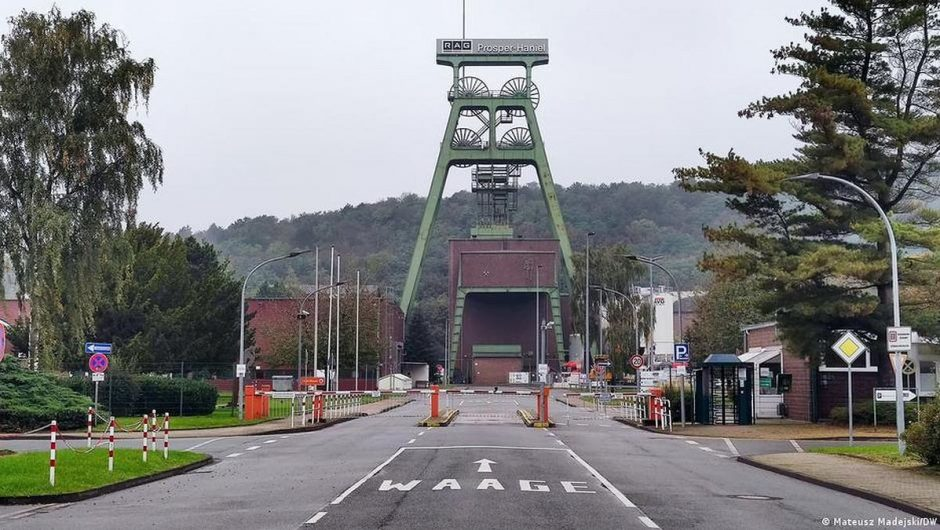 Germany.  It was the last hard coal mine.  Now she is winning her second life