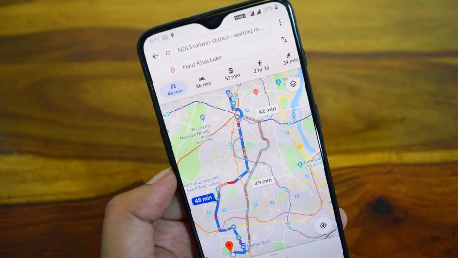 Google Maps will get you a very useful widget.  We'll set up navigation faster