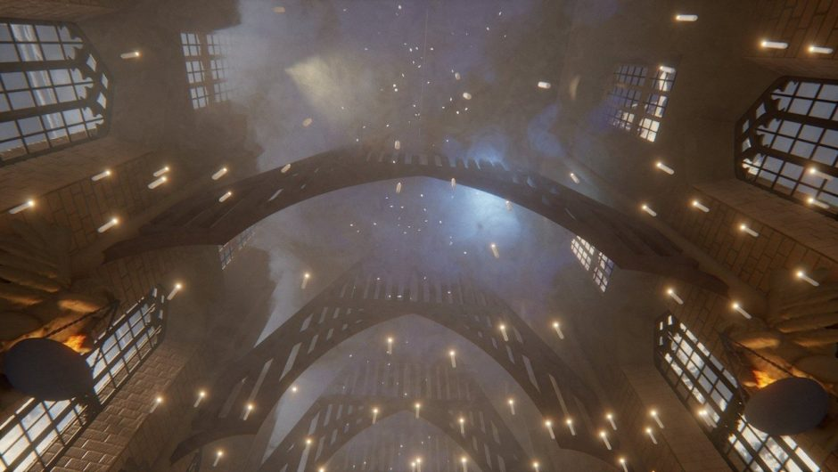 Harry Potter in Dreams - Virtual Hogwarts is a great action for the player