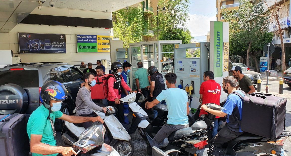 Lebanon is without electricity.  There is a shortage of fuel across the country