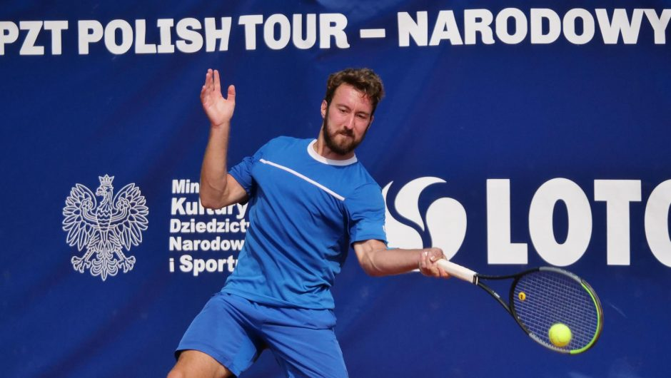 My husband's week.  Other successes of Polish tennis players
