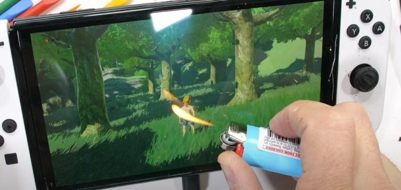 Screen endurance testing confirms that the Nintendo Switch OLED may have issues.  Players should be careful